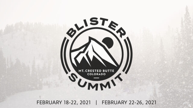 information on the 2021 Blister Summit at Mt. Crested Butte