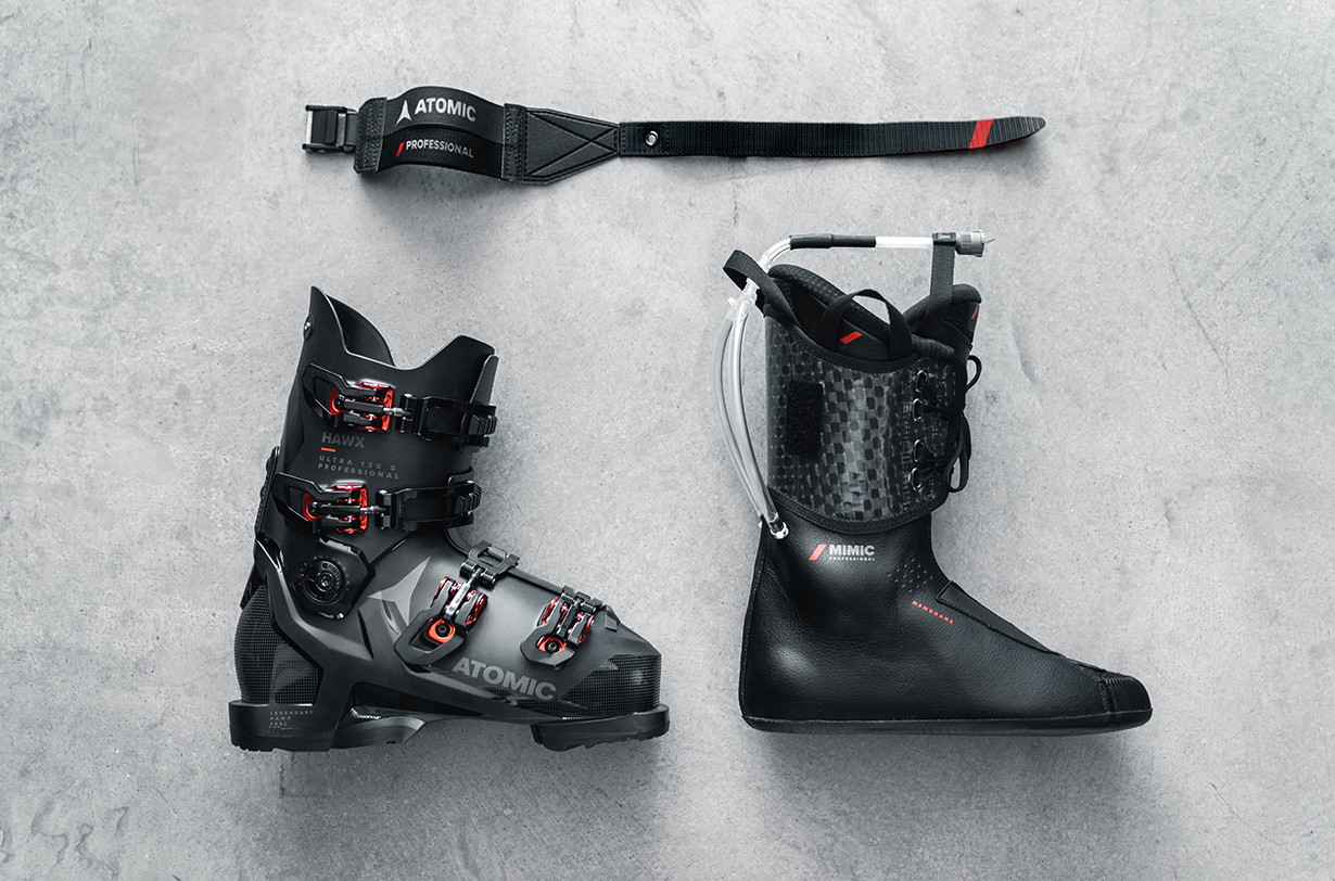 Atomic Ski Boot Product Manager, Matt Manser, goes on Blister's GEAR:30 podcast to discuss Atomic new's Professional series of Hawx boots and Mimic liners, Atomic's new Dual Strap, ski boot heel pockets, ski boot liner tongues, why plug boots are not a thing, and more