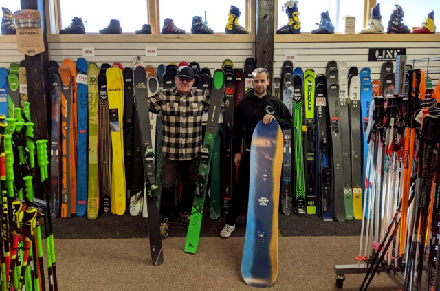 """Mark """"Osman"""" Osell and Jeff Perry go on Blister's GEAR:30 podcast to discuss their shop, Gear West, Midwestern skiing, snowboarding, and biking, and more"""