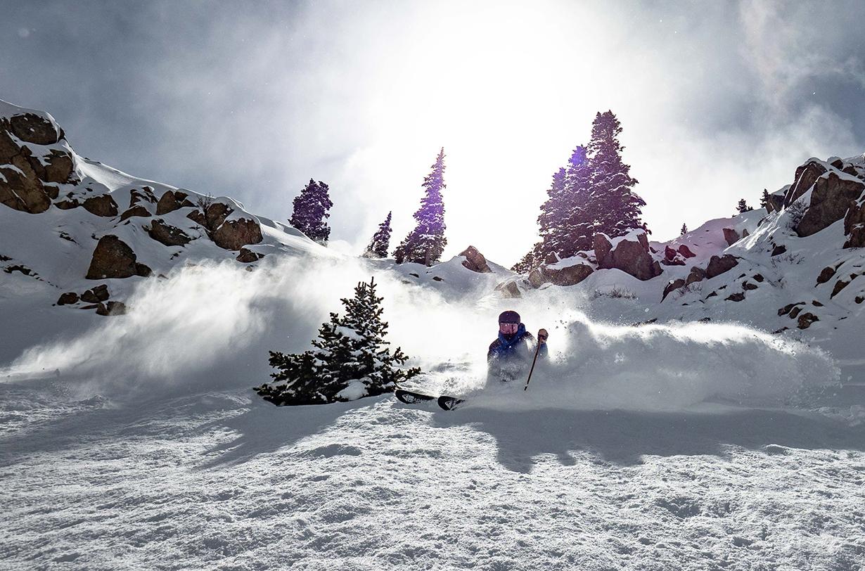 Luke Koppa, Dylan Wood, & Jonathan Ellsworth review the Wagner 106 ski for Blister