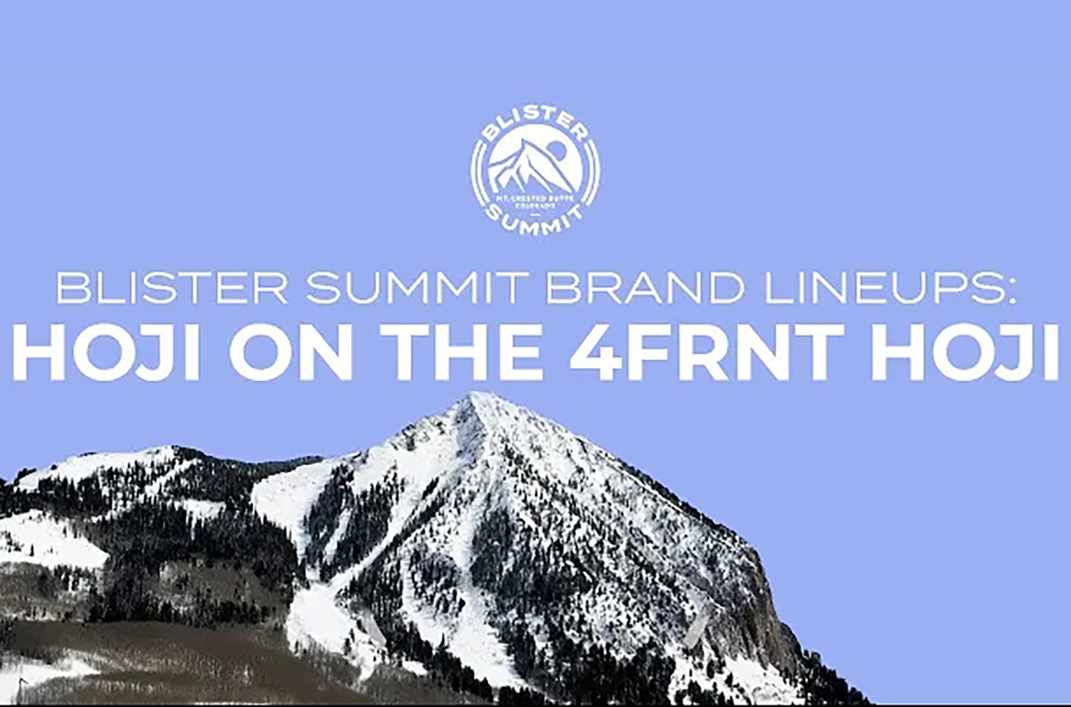 Blister's Jonathan Ellsworth talks to Eric Hjorleifson about the development process and the updates to his namesake ski, the 2021-2022 4FRNT Hoji.