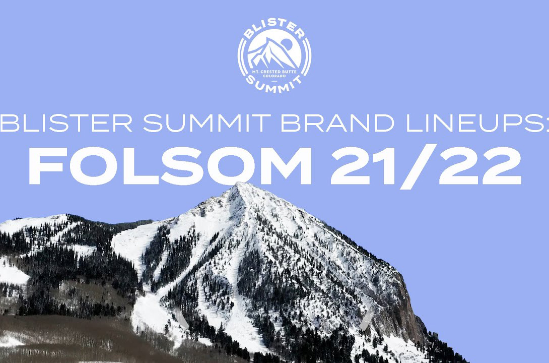 We sat down with Folsom Custom Skis CEO, Mike McCabe, to talk about two of the most surprising skis of the Blister Summit; how Folsom does things; Mike's thoughts on the Blister Summit; and more.