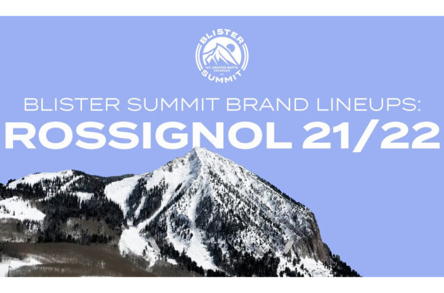 "At the Blister Summit, we dove deep into Rossignol's 21/22 ski lineup, with Rossi's alpine category manager, Jake Stevens. We discussed the decision to kill the ""7 Series"" and the Soul 7; what they are going for with their Black Ops series that replaces it; why ""-ish"" is a very important suffix for Rossignol; and more."