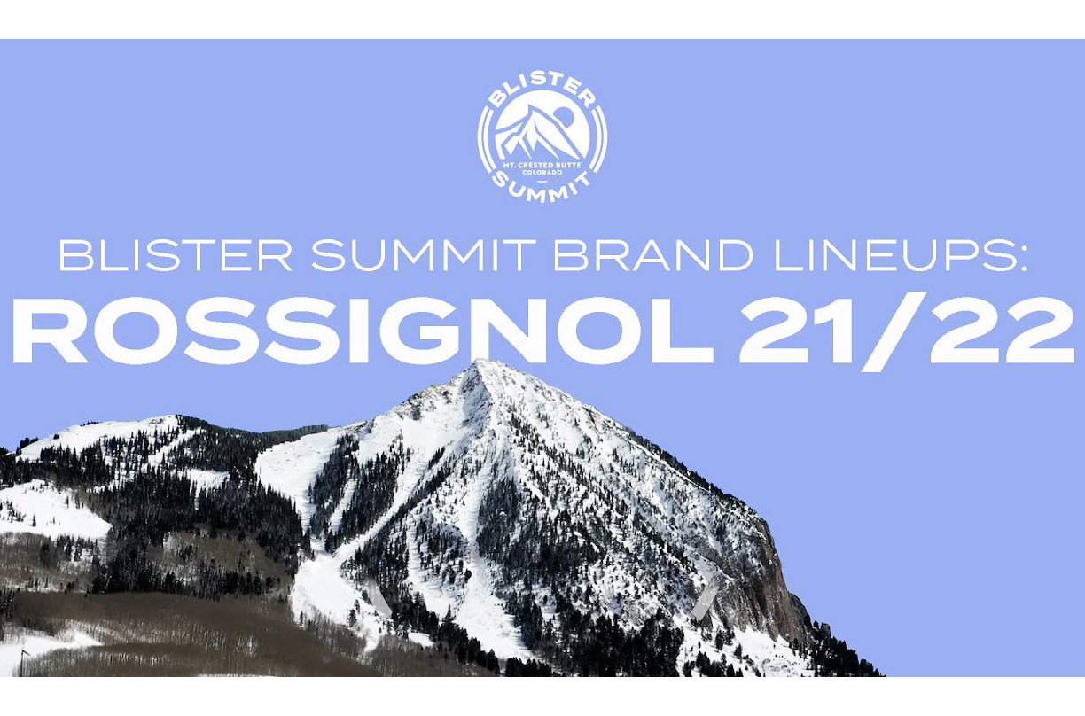 """At the Blister Summit, we dove deep into Rossignol's 21/22 ski lineup, with Rossi's alpine category manager, Jake Stevens. We discussed the decision to kill the """"7 Series"""" and the Soul 7; what they are going for with their Black Ops series that replaces it; why """"-ish"""" is a very important suffix for Rossignol; and more."""