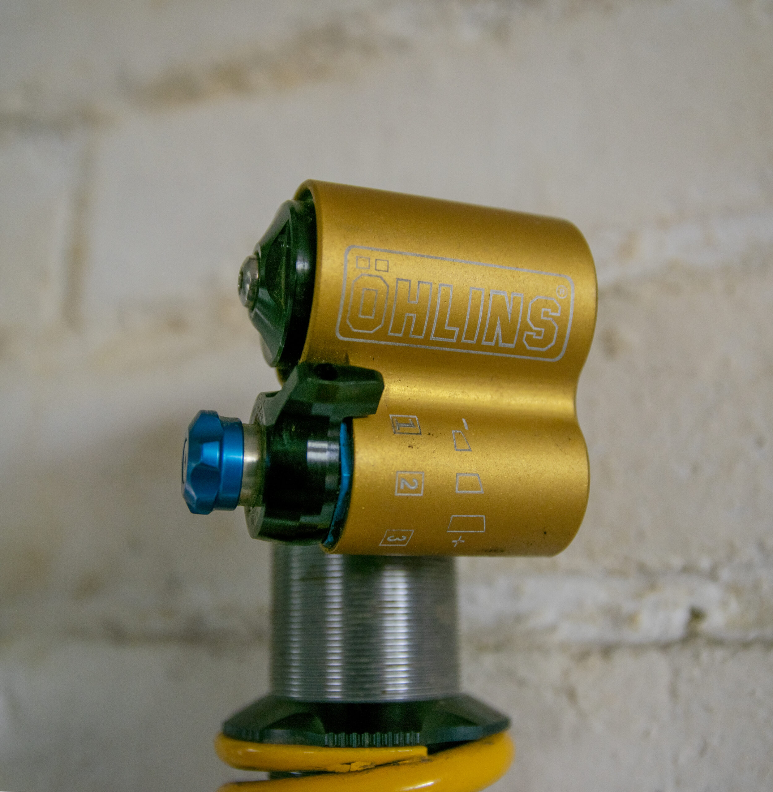 David Golay reviews the Ohlins TTX22 for Blister