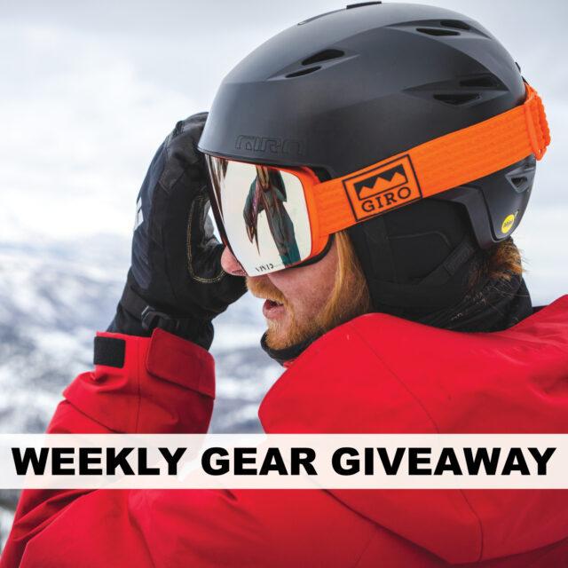 Win a Helmet & Goggles from Giro, BLISTER