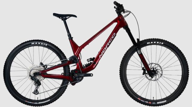 David Golay reviews the 2022 Norco Range for Blister