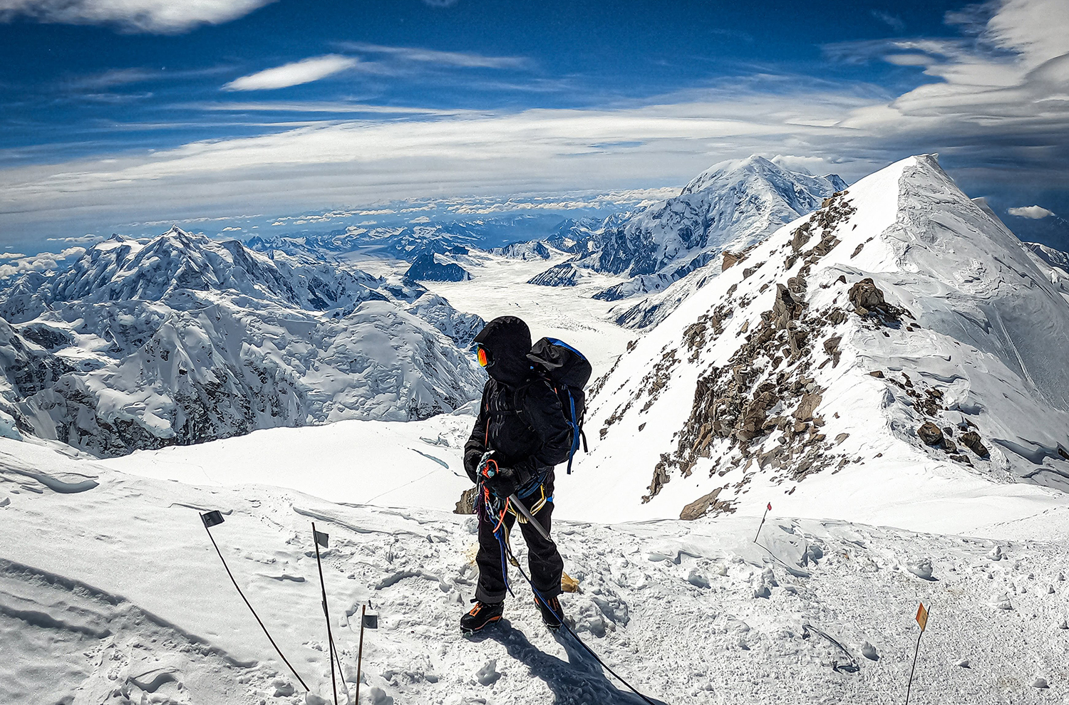 On Blister's GEAR:30 podcast we are talking about Denali again this week, this time, with Andrew Alexander King. Andrew recounts the details of the expedition, and talks about some of the most important gear he used.