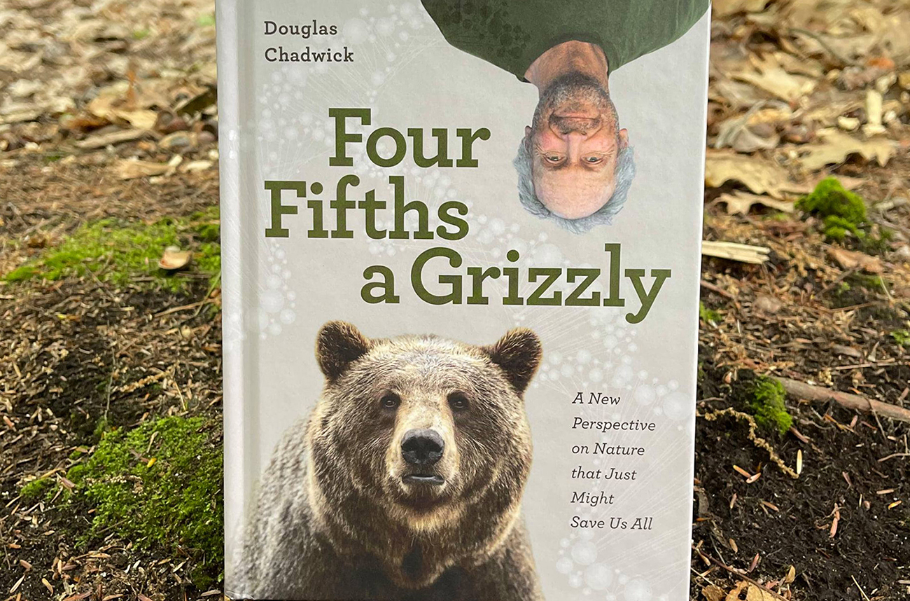 This week on the Blister Podcast we discuss grizzlies, whales, microbes, humankind, & the future of the world with the wildlife biologist & author, Doug Chadwick. All of these are topics in Doug's excellent new book, Four Fifths a Grizzly: A New Perspective on Nature that Just Might Save Us All.