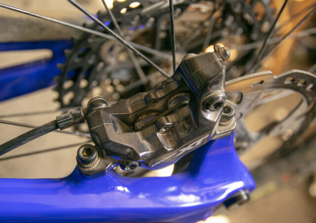 How to quiet Shimano brake pad rattle