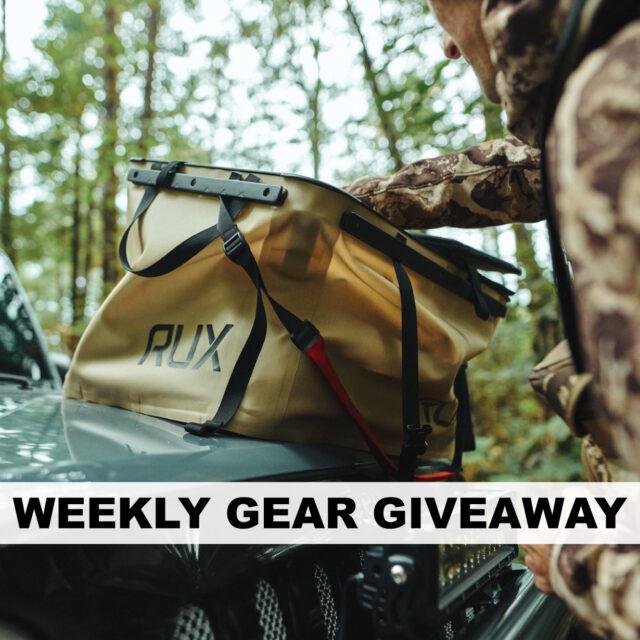 Win a RUX Gear Organizer, BLISTER