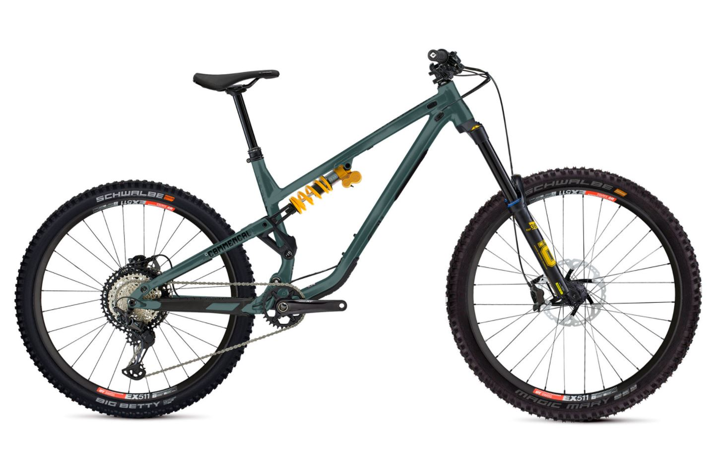 David Golay reviews the 2022 Commencal Meta SX for Blister