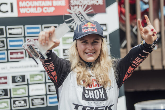 On our latest Bikes & Big Ideas podcast, Matt Manser (of GEAR:30 fame) and Jonathan Ellsworth talk to the very impressive (and very candid) Vali Höll about her remarkable season; race tactics; racing styles; Greg Minnaar & whether she can imagine still racing in 20 years; and more.